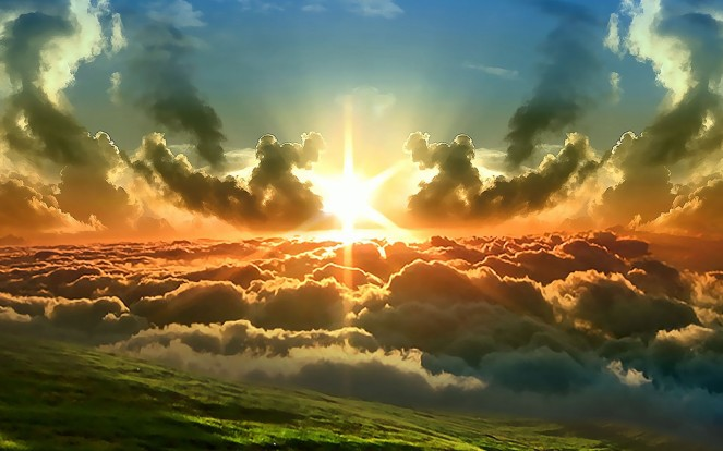Sun And Clouds Wallpapers (3)